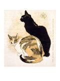 Chats Giclée par Théophile Alexandre Steinlen