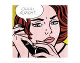 Ohhh...Alright..., 1964 Reproduction d'art par Roy Lichtenstein