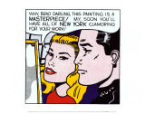 Chef-d'œuvre, 1962 Reproduction d'art par Roy Lichtenstein