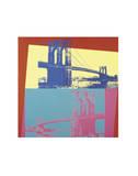 Brooklyn Bridge, 1983 Reproduction d'art par Andy Warhol