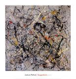 Nombre 18, 1950 art abstrait œuvre par Jackson Pollock