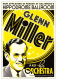 Glenn Miller Reproduction d'art par Dennis Loren