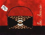 Leopard Handbag II