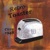Retro Toaster  Circa 1948
