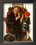 Norman Rockwell - Doctor & Doll