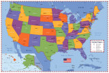 American States Map