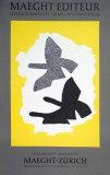 Lithographie, 1973 Reproduction pour collectionneurs par Georges Braque