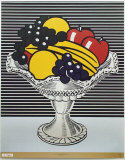 Still Life with Crystal Bowl Reproduction pour collectionneurs par Roy Lichtenstein