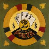 Two Dollar Poker Chip