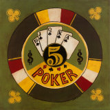 Five Dollar Poker Chip