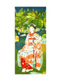 Japanese Woman in Kimono