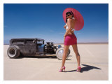 Pin-Up Girl: Salt Flat Rat Rod