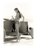 Pin-Up Girl: 1932 High Boy Salt Flat