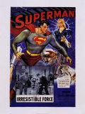 Superman Reproduction d'art par The Vintage Collection