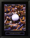 Character - Golf Tees
