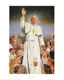 Pope John Paul II White Robes