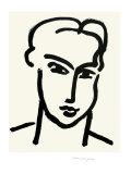 Grande Tete De Katia Reproduction d'art par Henri Matisse