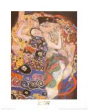 La vierge Reproduction d'art par Gustav Klimt