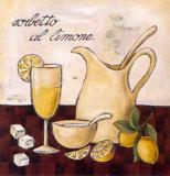 Goûts d'ItalieIV Reproduction d'art par L. Morales