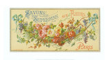 Savon Aux Fleurs