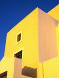Yellow Building on Santorini