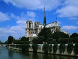 Cathedral of Notre Dame and the Seine