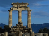Temple of Tholos in the Sanctuary of Athena