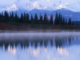 Alaskan Range Reflected in Wonder Lake