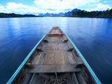 Long-tailed Boat on Chiaw-Lan Lake