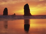 Sea Stacks at Cannon Beach