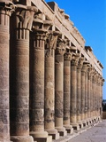 Philae Temple Colonnade  Temple of Isis