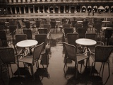 Empty Tables in Piazza San Marco