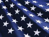 Stars on American Flag