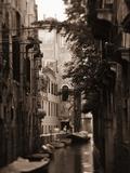 Apartments Along Narrow Canal
