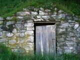 Door to Underground Root Cellar
