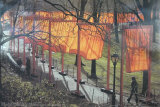 The Gates, Photo No. 28 Reproduction d'art par Christo