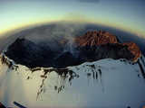 Aerial View of the Mount St Helens Crater Taken after the Eruption