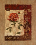 Burlap Tea Rose