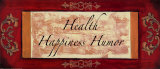 Words to Live By  Traditional: Health