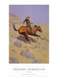 The Cowboy Reproduction d'art par Frederic Sackrider Remington