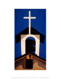 Clocher d'église Reproduction d'art par Georgia O'Keeffe