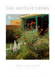 Flower Garden  Santa Fe Opera  1995