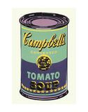 Boîte de soupe Campbell's|Campbell's Soup Can, 1965 (verte et violette) Reproduction d'art par Andy Warhol