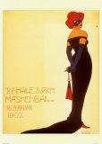 Tonhale Zurich Maskenbal  1907