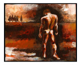 Nude Male in his Landscape
