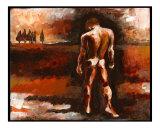Nude Male in his Landscape