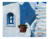 Grecian Homestead in Blues