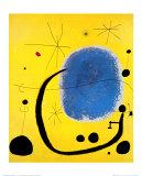 L'or de l'azur Reproduction d'art par Joan Miró