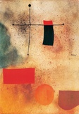 Sans titre, 1935 Reproduction d'art par Joan Miró