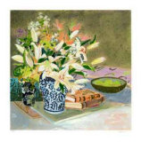 Still Life with Lilies I
